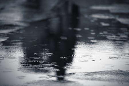 El tiempo lluvioso, Praga