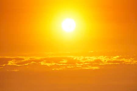 back lit: Moody sky - bright sunset - back lit