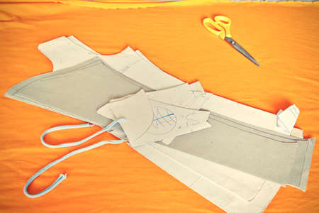 tailored: Still Life with templates in a tailor shop