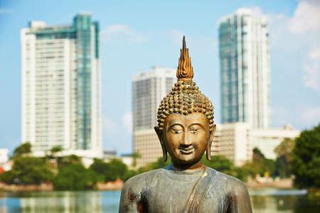 The Seema Malaka Temple - Gangaramaya in Colombo  photo