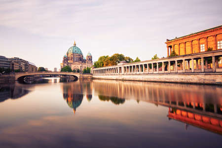 Museum Island with Berlin Cathedral - Berlin, Germany Editorial
