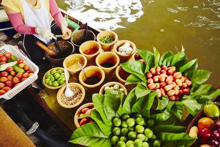 Küche auf dem Boot - Bangkok, Thailand