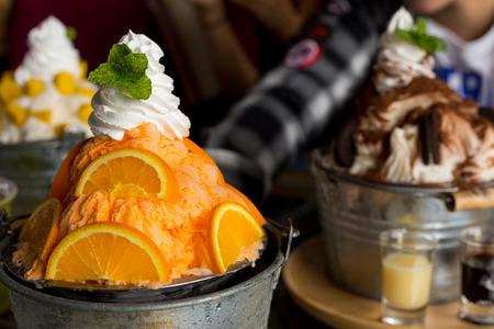 bingsu ice cream Korean dessert