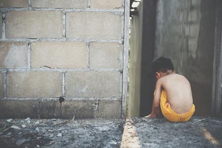 Child prostitution,violence against children Stock Photo