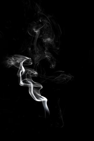 Smoke on black background Stock Photo - 99394247