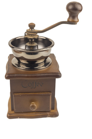 Coffee grinder isolated.