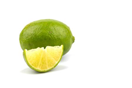 Lime isolated on white background Stock Photo - 99394615