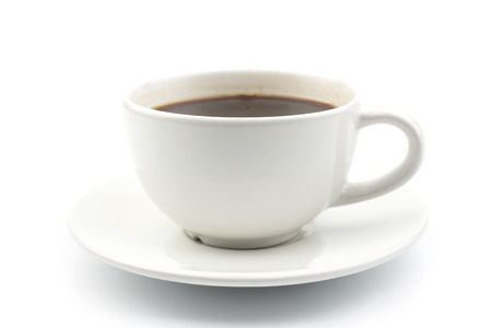 Coffee cup on a white background.