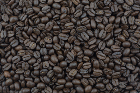 coffee beans, can be used as a background 免版税图像
