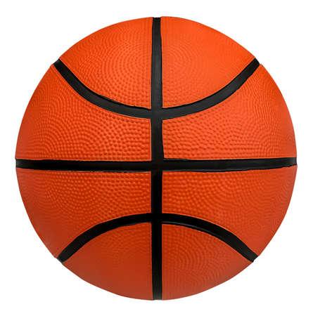 Basketball on white background Stockfoto