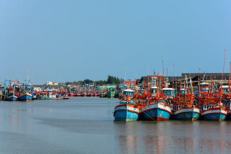 Fishing Boats in a Harbour  photo