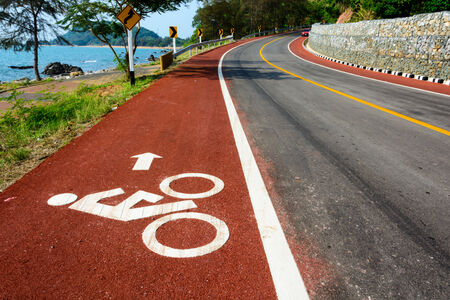 Bicycle road photo