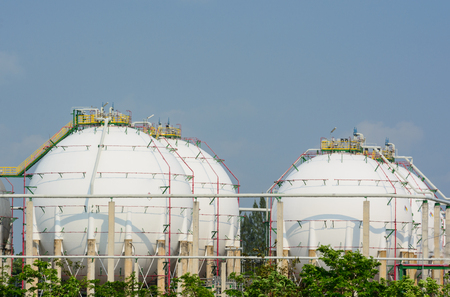 Natural Gas Tank  photo