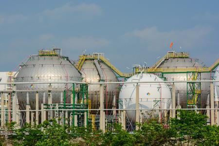 liquefied: Natural Gas Tank