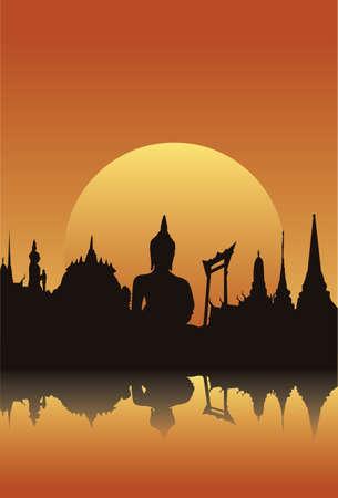 buddhist temple: thailand