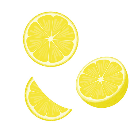 illustration. lemon 2 Stock Illustratie