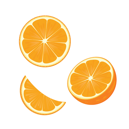 naranja fruta: illustration.orange