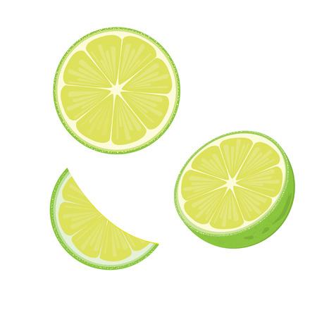 illustration lime