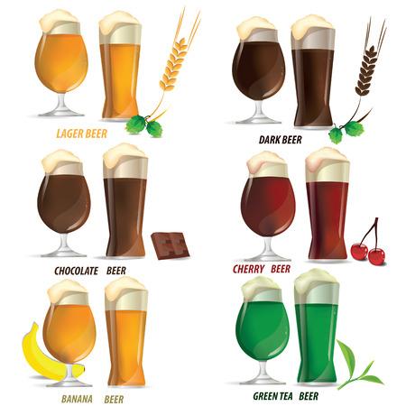 guinness: illustration beer vector on white background.
