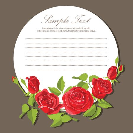 red rose: Red rose stationary for romantic messages.