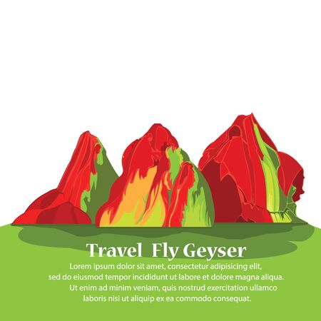 Travel, Fly Geyser  in Nevada