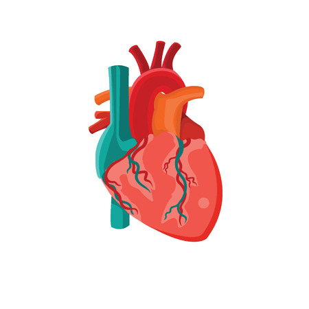 heart icon. Illustration