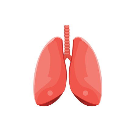 lungs icon. Ilustrace