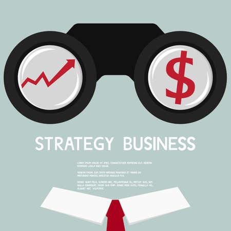 Vous cherchez des affaires courbe de croissance et de l'argent. Banque d'images - 40349327