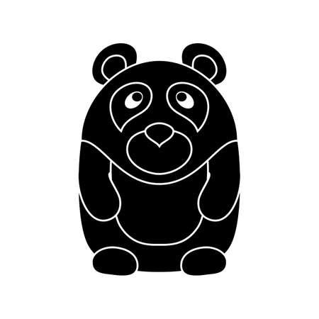 cute cartoon: Cute little cartoon Panda