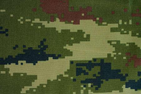 Camouflage cloth pattern photo