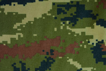 disappear: Camouflage cloth pattern