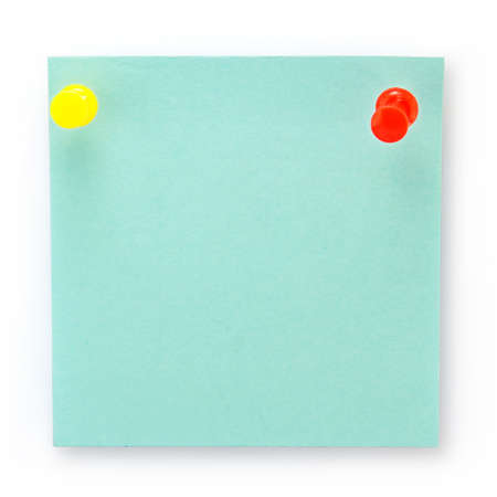 post-it notes over white background  photo
