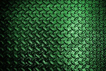 グランジ ダイヤモンドの金属板の背景を使用します。