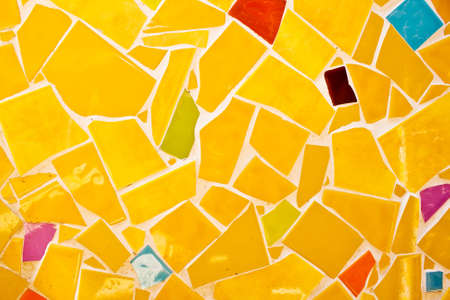 lithosphere: abstract of colorful flagstones