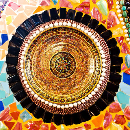beautiful mosaic photo