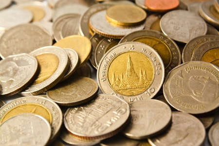 coins as a background Stock Photo - 16683645