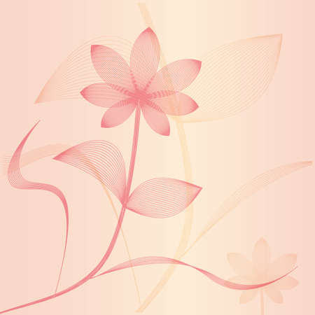Vector flower. Stock Vector - 18140007