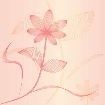 Vector flower. Stock Vector - 18140007