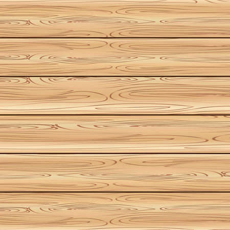 Brown wood panel background. Vector