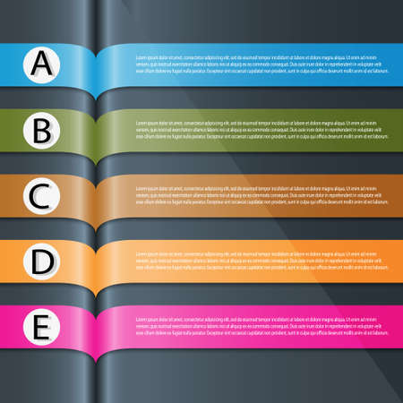 Modern Design template   can be used for infographics