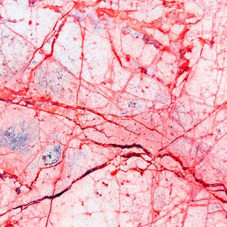 テクスチャの赤い大理石の床