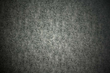 flax seed: Black fabric texture vignette Stock Photo