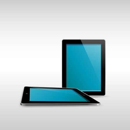 Tablet illustrator isolated on white background EPS10 Stock Vector - 19686335