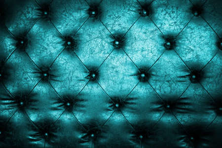 Luxury blue leather close-up background with great detail for background photo