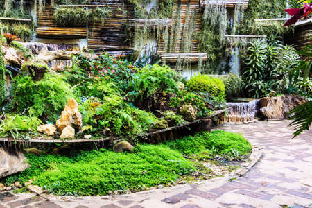 Garden design,beautiful park,Mae Fah Luang,Chaing rai,Thailand photo