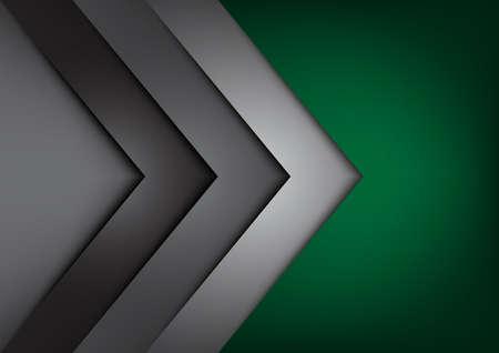 overlap: Green vector background overlap dimension