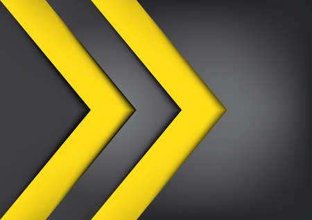 Black and yellow background overlap dimension