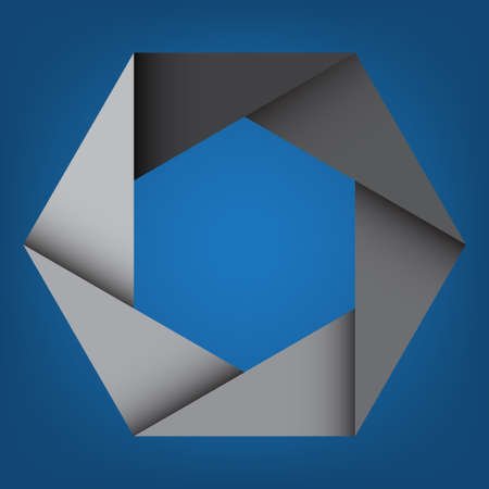 octagon: Abstract Gray Octagon Background,design element.eps10