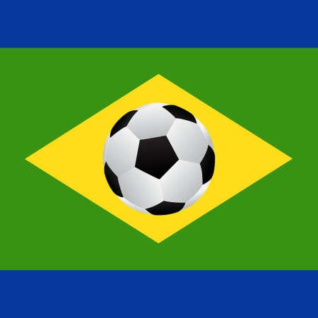 frag: Soccer agiainst brazil frag Vector EPS10
