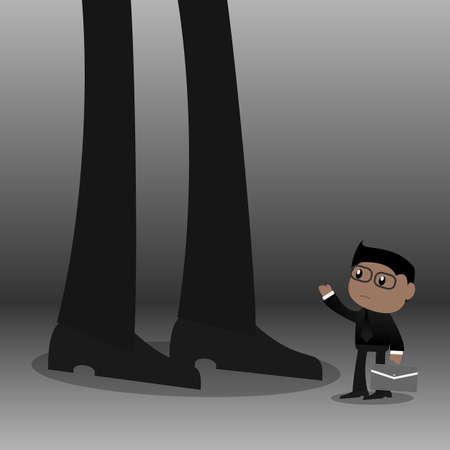 Weak opposition Illustration
